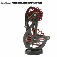 Bicycle Carbon Ceramic Rear Derailleur 17T Pulley Guide Wheel Shimano ULTEGRA