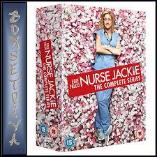 NURSE JACKIE -COMPLETE SERIES - SEASONS 1 2 3 4 5 6 & 7*BRAND NEW DVD BOXSET***