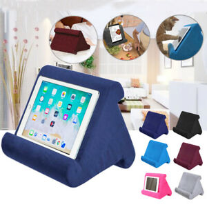 UK Multi-Color Soft Pillow Lap Stand For iPad Tablet Cushion Phone Laptop Holder