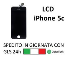LCD DISPLAY + TOUCH + FRAME COMPLETO PER IPHONE 5C NERO GRADO A