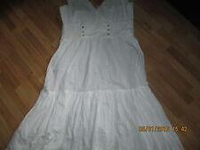 Malvin New Cream Cotton  Dress Size 16 - BNWOT