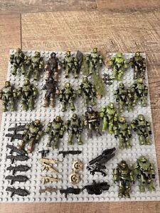 Halo Mega Construx Green Spartan Lot