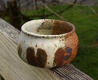 "Handmade Pottery Pot Bowl 2 1/4"" Tall 3 1/4"" Diameter Signed Dick Gilmore"