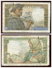10 francs MINEUR  22/06/1944   ( N 82 )  ( 23438 )