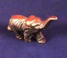 "Cute Miniature 1"" Brass Baby Elephant Figure"