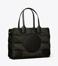 Tory Burch Satin ELLA MINI PUFFER TOTE ~NWT~ Black