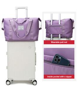 Large Capacity Folding Travel Bag Unisex Expandable Sports Waterproof Duffel Bag