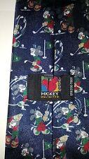 DISNEY Mickey Unlimited Men's Golf Tie Necktie 100% Poly Made in Sweden