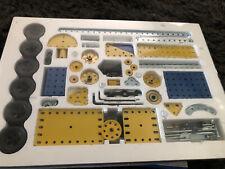 Vintage Meccano Erector Metal Construction Set #5 63 Models With Motor