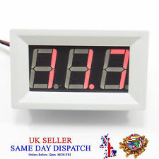 DC 3-30V LED Digital Display Red Volt Meter Voltmeter Voltage Gauge Motor Car
