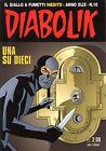 fumetto DIABOLIK ANNO XLIX numero 10
