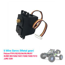 Upgrade Parts 5 Wire Metal Gear Servo For Feiyue FY01/FY02/FY03/FY04 RC Car