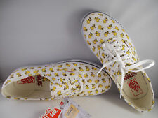 VANS Authentic Peanuts Woodstock/Bone Skateboarding Shoes Mens Size 8 New In Box