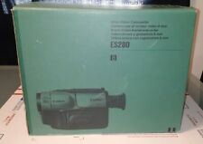Canon Es280 8mm Video Camcorder In Box with Accessories and Tapes Works Great!