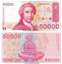 Croatia 50000 Dinara 1993 P-26 Banknotes UNC