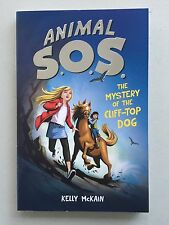 Animal SOS The Mystery of the Cliff-Top Dog - Kelly McKain Children Reading Book