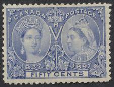 Canada #60 50c Victoria Jubilee, Mint OG Hinged, VF Centering