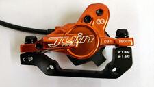 Juin Tech DB1 Hydraulic Disc Brake Set - Orange - F&R 160mm