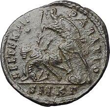 CONSTANTIUS II Constantine the Great son Ancient Roman Coin Battle Horse  i48041