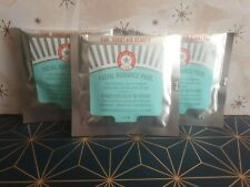 ~ New ~ FAB * First Aid Beauty Facial Radiance Pads - Travel Size Pack 10 x 3