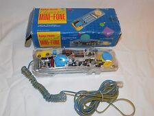 Vintage Clearset Mini-Fone See Through Telephone Radio Shack