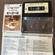 BEE GEES Popular Hit Collection JAPAN SEMI-OFFICIAL CASSETTE TFC-5019 SLIP CASE
