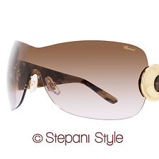 Chopard Shield Sunglasses SCH939 0300 Brown Melange 939