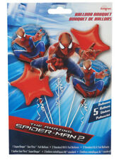 Amazing Spider-Man 2 Movie Balloon Bouquet Marvel 5 Balloons