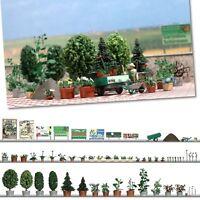 OO/HO Scene - Garden Design Set - Busch 1211 P3
