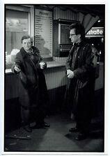 Photo François Lehr - Les Ailes du Désir - Peter Falk et Wim Wenders - 1987 -
