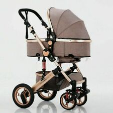 Trally® 3in1 Kombi-Kinderwagen Babywanne Buggy Reisebuggy & Auto-Babyschale 100
