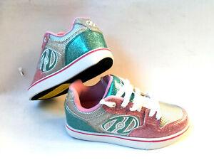 Heelys Motion Plus silver /light pink Schuh mit Rollen Heelies Sneakers Gr. 38