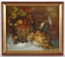 "Petro Magro (b.1918), ""Still Life"", Oil Painting, 1950s"