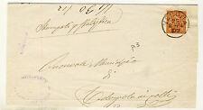15577- Verona, Ronco, collettoria per Colognola ai Colli, 1884
