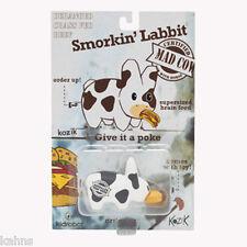 MINI SMORKIN' LABBIT MAD COW Vinyl 2.5 inch by Kidrobot Vinyl Mini Figures NEW