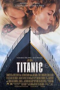 TITANIC LEONARDO DICAPRIO KATE WINSLET MOVIE POSTER FILM A4 A3 ART PRINT CINEMA