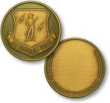 U.S. Air National Guard / Engravable Wreath - Bronze Challenge Coin