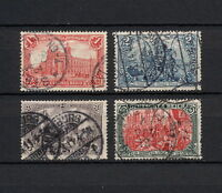 (YYAA 220) GERMANY 1905 USED Mich 94AI - 97AI Sc 92 - 95 Deutsches Reich