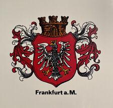Vintage A. Wilhelm Danischburg Frankfurt a.M. Eagle Crest Ceramic Tile Germany