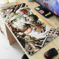 Anime My Hero Academia Midoriya Izuku Bakugo Katsuki Large Mouse Pad Mad Playmat