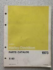 Harley Davidson Aermacchi X90 Parts Catalog