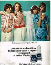 Publicité Advertising 1972 La Lessive Woolite