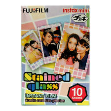 Fuji INSTAX mini / Polaroid 300  STAINED GLASS Instant Film - Free UK Delivery