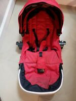 Baby Jogger City Select Second Seat Red - Seat Only
