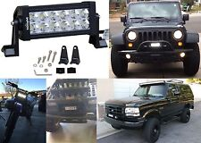 "Nilight 7"" 36w Spot LED Work Light Off Road LED Light Bar 12V New Free Shipping"