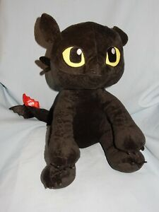 """Build A Bear How To Train Your Dragon TOOTHLESS 12"""" Sitting tush tag missing"""