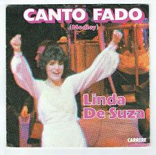 "Linda DE SUZA Vinyle 45T 7"" CANTO FADO Medley - SUPERSTITIEUSE - CARRERE 13169"