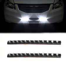 Universal 2 x 12 LED DRL Weiß Nebelscheinwerfer Tagfahrlicher Blinkerleuchte 12V