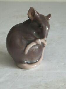 """Vintage MOUSE B & G Bing & Grondahl Porcelain Figurine Sculpture Model 1801 2"""""""