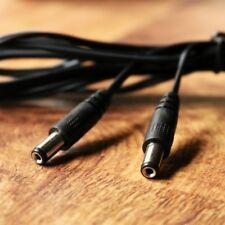 DC Cable de extensión 3m 2.1mm 1A 12V Cámara CCTV de Alimentación Macho a Macho por PK Verde